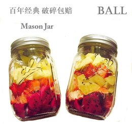 Wholesale Ball Mason Mason Cup Glass Drinks Bottle Fruits Sauce Seal Up Bottle Vegetables Sand PULL Pot Sand PULL Sauce Bottle