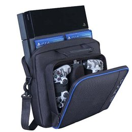 1PCS Black Travel Carry Case Handbag Carrying Bag For PS4 Console Accessorie Out package Free shipping