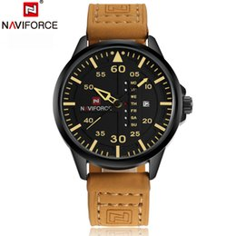 NAVIFORCE Top Men Quartz Sports Watch Brand Army Military watch Quartz-watch Clock Waterproof Wrist Men's Relogio Masculino 2016