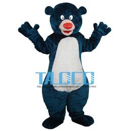 Blue Big Bear Cartoon Character Costume Mascot Custom Products Custom-Made(S.M.L.XL.XXL) Free Shipping