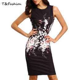 Wholesale Black Skin Tight cocktai Dresses Black o neck Sexy Party sleeveless Tight About Knee dress for Sexy women