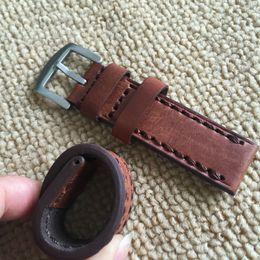 Gros-22MM * 22MM main en cuir brun Soft Scrub Bracelet, Classique général Bracelet Ceinture handmade scrub promotion à partir de gommage main fournisseurs