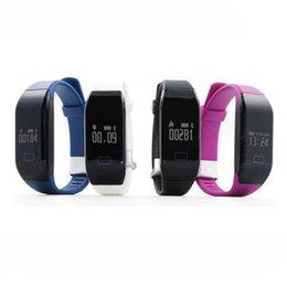 2017 téléphones cellulaires concepteur Bracelets Smart Wristbands élégant Smart Tracker Fitness Fitness Wearable Sprots Bracelet Smart avec télécommande pour les téléphones cellulaires H3