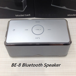 Wholesale Super Bass BE BE8 Bluetooth Speaker High Fidelity Transmission Stereo Subwoofer Wireless Bluetooth NFC Touch Function Best Sound