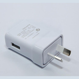 Wholesale 2A Australia Standard USB Wall Charger Adapter For Samsung Huawei LG HTC Oppo Xiaomi Smart Phones