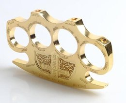 HELL DETECTIVE CONSTANTINE BRASS KNUCKLE DUSTERS GOLD
