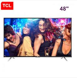 Promotion tv lcd 55 TCL 48 pouces full HD LED TV LCD Andrews résolution de télévision intelligente 1920 * 1080P Les produits les plus vendus livraison gratuite
