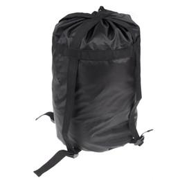 Nylon Compression Stuff Sack BlueField Lightweight Bag Outdoor Camping Sleeping Small Bag 45*26*26cm