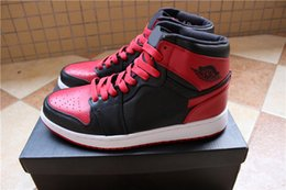 Wholesale Top Quality New Retro Banned OG High Men Basketball Shoes Bred Black Red White russell westbrook Cheap s Sneakers For Sale