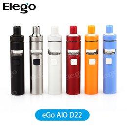 Original Joyetech eGO D22 Starter Kit with 15000mAh Battery Capacity Update from Joyeetch eGo AIO Kit