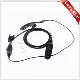New M4 PTT VOX MIC Earpiece for Motorola Radio HT750 HT1250 GP328 GP329 GP340 GP380 MTX850 PRO5150 Black