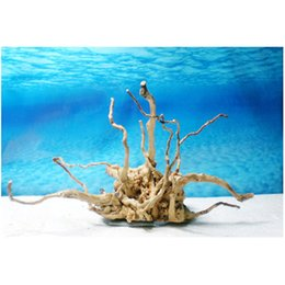 Wholesale Lowest Price Natural Root Driftwood Root Log Stump Cuckoo Root Aquarium Decoration Fish Tank About x x cm