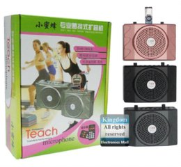 Voice Amplifier Loudspeaker with MP3 FM player Wonderful Tool For Teaching Support TF Micro SD Memory Card Remote Control