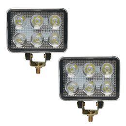 Wholesale 3 inch W LED Work Light Rectangle LED Work Driving Lamp LEDS for x4 Off road Car Boat Truck SUV ATV UTV