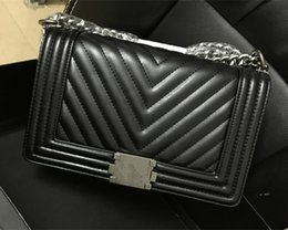 Wholesale Famous Brand Designer bags Women Sheepskin leather Bags Le Luxury Boy bags cm cm Flap Shoulder Bags with gift box