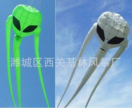 Wholesale 3D Black online Stunt Parafoil m ghost aliens Kite Sport outdoor toy