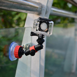 Action Video Suction Cup With Locking Arm to Use Anti-Vibration Mount for GoPro and Other Action Video Cameras