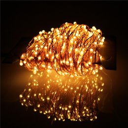 Christmas light 30m Outdoor Christmas Fairy Lights holiday party Copper Wire LED String Lights Starry Light+Power Adapter(UK,US,EU,AU Plug)