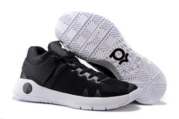 Wholesale Cheap Kd V Shoes - 2016 New KD Trey 5 IV V 4 Black White Mens Sneakers Cheap KD5 Kds Kevin Durant Basketball shoes Men For Sale