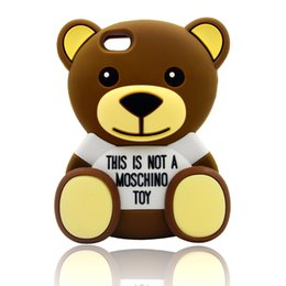 Wholesale Teddy Bear Cartoon Silicone Case Soft Cell Phone Case for iPhone Samsung LG Asus Huawei Alcatel ZTE Sony Moto HTC