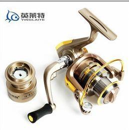 Wholesale 2015 BB High Power GEAR RATIO Metal Spinning wheel Fishing Reel Line Capacity YL151