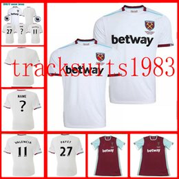 Wholesale 16 West Ham United jerseys Shirt PAYET NOBLE CARROLL Thailand quality jersey New Season Away Home