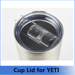 Wholesale Hot Large Capacity Mug Tumblerful Lids for Yeti cup lid push piece leakproof splash slide double decker cup lid for oz