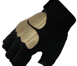 Wholesale Slips Nylon Men - New Arrival Gloves Wholesale Warm Winter Gloves Half Fingers Good Quality Gloves For Bicycle Finger Non-Slip Gloves Protective Outdoor