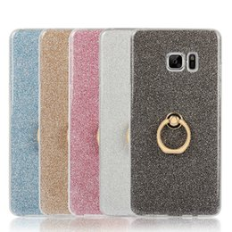 Wholesale Finger Ring Grip Stand Soft TPU Case Bling For Note7 Note Best Quality DHL