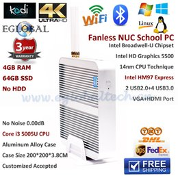 Wholesale High Cost performance Mini PC With Intel i3 u GB RAM GB SSD Computador HD Graphic D Gaming Blue ray Support Win8