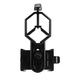 Wholesale Universal Cell Phone Adapter Mount Support Eyepiece Diameter mm for Binocular Monocular Spotting Scope Telescope W2546A