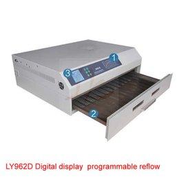 GROSSES SOLDES!! 3300W Écran numérique Programmable Reflow four 962D refusion machine à souder à partir de un four de brasage par refusion fabricateur