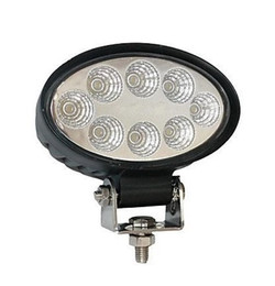 "Import Cheap Goods From China 24V Led Work Lamps, 4.3"" High Intensity Epsitar Leds, 24W Oval Led Work Light"