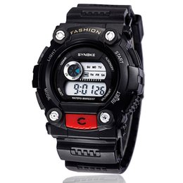 Silicone Strap LED Digital Analog Man Dress Watch Shockproof Luxury Man Sport Watch Multi-function Outdoor Watch for Mens