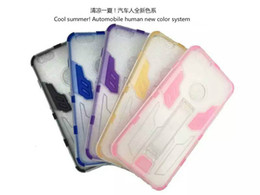 Wholesale Autbots certified products five colours concise fashion unbreak TPU PC in belt support cell phone cases