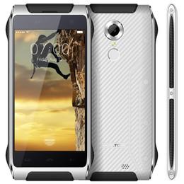 Pantalla HOMTOM HT20 Android6.0 4G FDD Móvil 4,7 pulg IP68 2G RAM 16G ROM de huellas digitales a prueba de agua ID desde pantallas digitales fabricantes