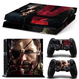 Metal Gear Vinyl PVC Decal Skin Sticker for Playstation 4 PS4 Console and 2 Controllers
