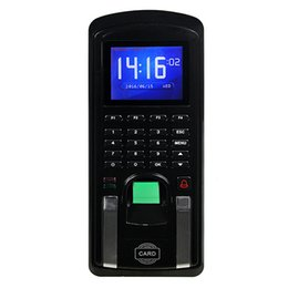 Wholesale Offline Online Attendance Access Control Integrated Machine Biometric Time Clock Recorder Easy To Using F6156A
