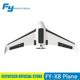 Wholesale feiyutech official store Super fpv rc plane with m wingspan RTF assembly model FY X8 EPO airplane with panda system whole set