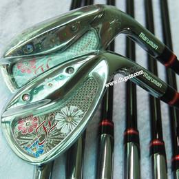 New womens Golf clubs man FL Golf irons set 5-9P.A.S Graphite Golf shaft Irons clubs Free shipping