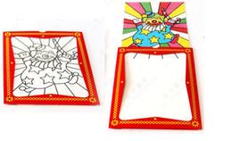 clown color change card,big size - magic trick,scraves magic, props,comedy