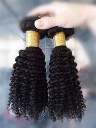 Short Cheap Brazilian Kinky Curly Hair 6A Unprocessed Brazilian Afro Kinky Curly Hair 2Pcs 100%Human Hair Extensions