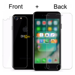 0.3mm 9H Premium Front And Back Tempered Glass for iPhone 7 6S 6 Plus 5 SE 5S Screen Protector Protective Film