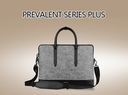 Wholesale Cartinoe MacBook Laptop Handbag Wool Felt Bag for Apple Air Pro inch Retina Notebook Fashion Deluxe Protective Sleeve Pouch Q1