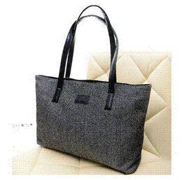 Acheter en ligne Toile grand sac à main-2016 Offre spéciale Fashion Marque solide Canvas Femmes Messenger Bag Vintage Femmes sac Casual Big shopping épaule Bolsas de A949