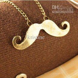 Wholesale Fashion jewelry for women fashion Avanti beard necklace mustache necklace hot selling design wholesaler price