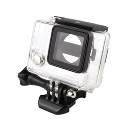 Wholesale Go pro Accessories Gopro Waterproof Housing Case Mount Hero plus for Gopro Hero3 Camera Mounting