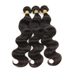 7A unprocessed human hair brazilian virgin hair body wave customized 8-28 inches hair extensions brazilian hair weave bundles