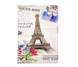 Wholesale Retro Paris Eiffel Tower Flower London Big Ben Car Skin Flip leather Stand cover case For Apple Ipad Mini Mini4