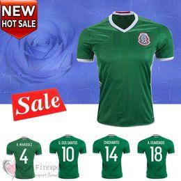 Wholesale Thai Quality Copa America Mexico home CHICHARITO Soccer Jerseys mens Athletic Outdoor AQUINO G DOS SANTOS football shirts
